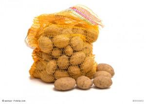 Kartoffeln im Raschelsack